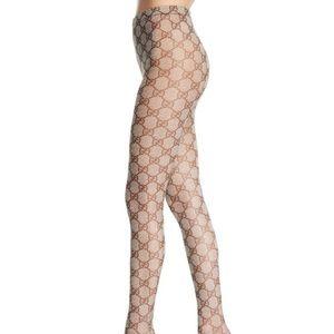 Gucci supreme GG logo tights